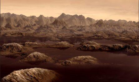 На Титане найдена органика