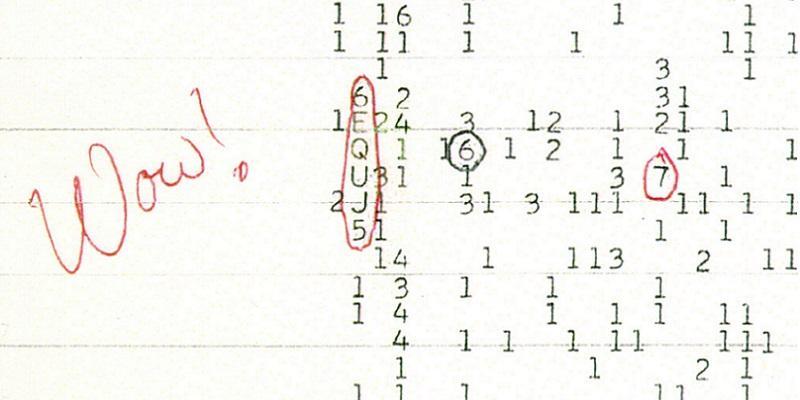 Рациональное объяснение внеземного сигнала «Wow!»