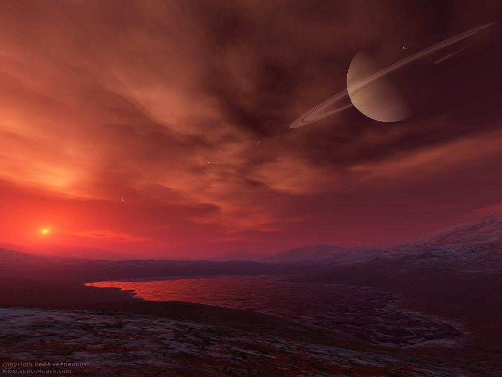 На Титане жизнь могла зародиться и без участия воды