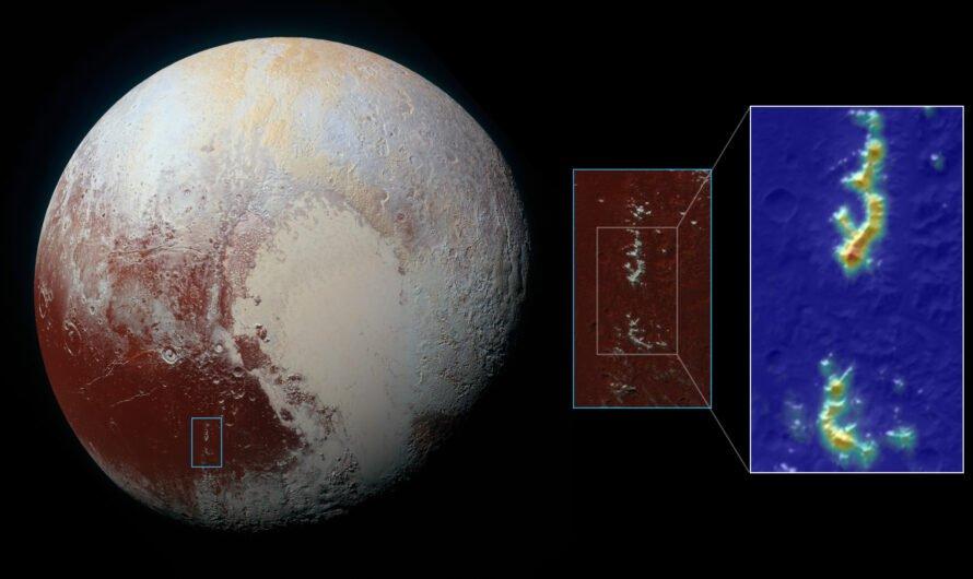Ледяные шапки Плутона похожи на земные, но образуются совсем иначе