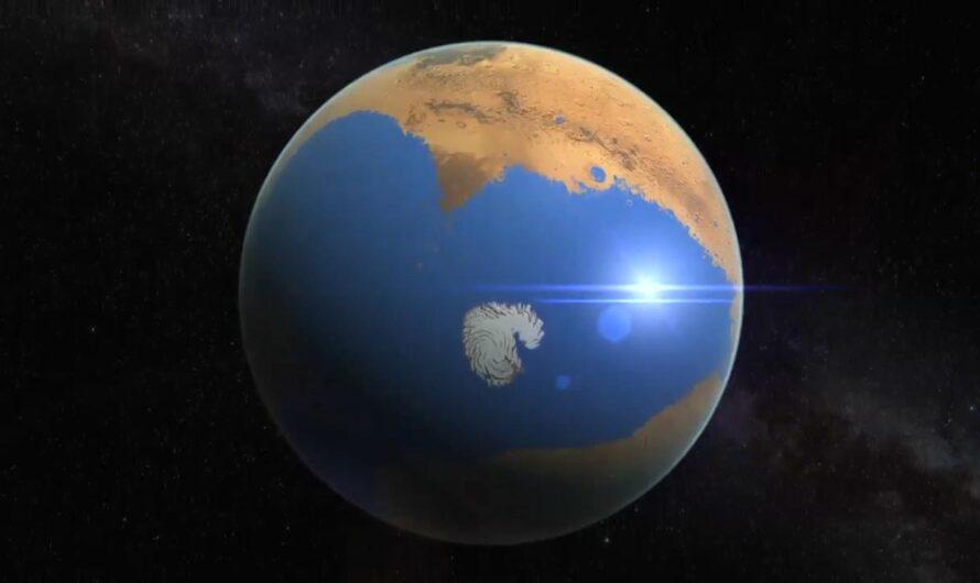 Океан Марса мог быть больше земного