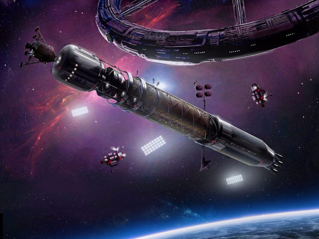 Компания NanoRacks планирует превратить орбитальный мусор в космические станции