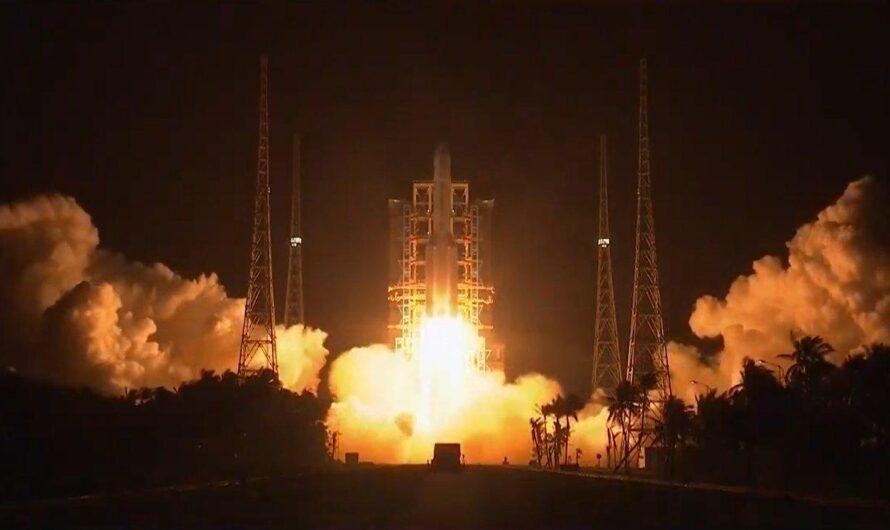 Китайская миссия «Чанъэ-5» по возвращению лунного грунта успешно стартовала