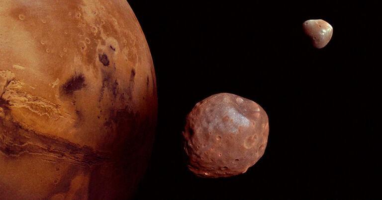 Вероятно, вокруг Марса вращается часть Луны