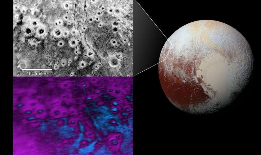 Загадочные кратеры Плутона