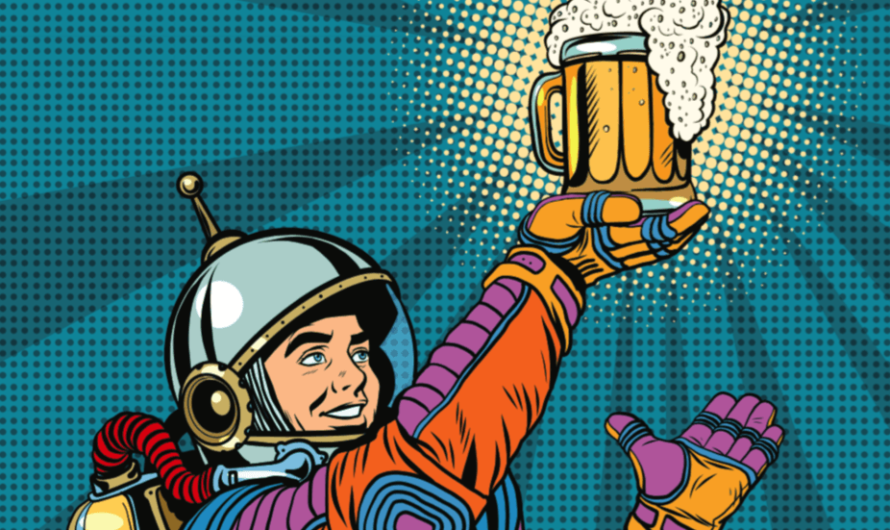 Оказывается, что астронавты провозят выпивку на МКС
