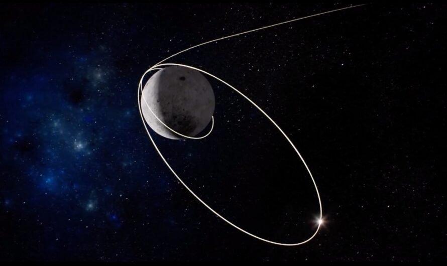 Орбитальный модуль с лунными образцами «Чанъэ-5» летит к Земле
