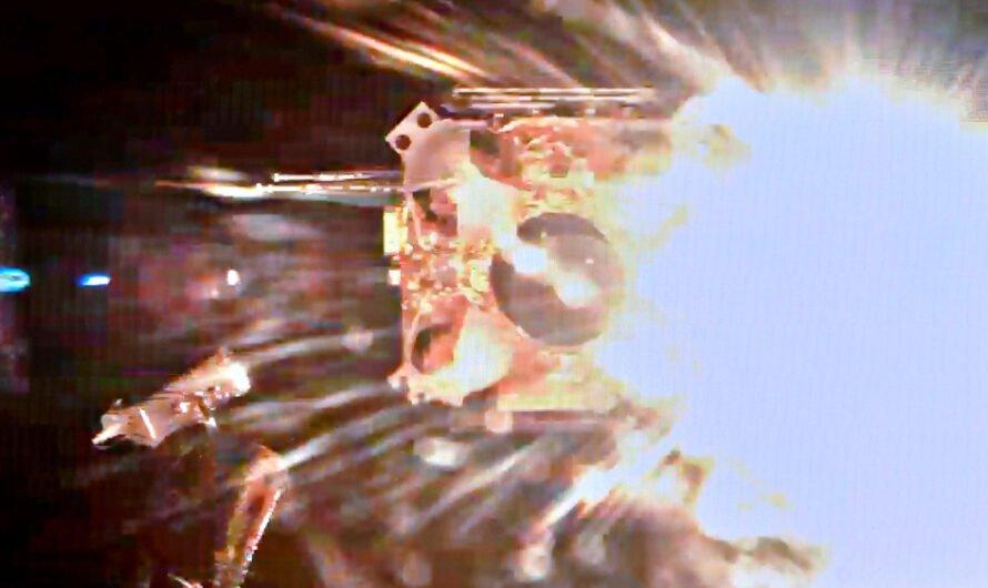 Китайский аппарат «Чанъэ-5» взлетел с Луны с образцами грунта