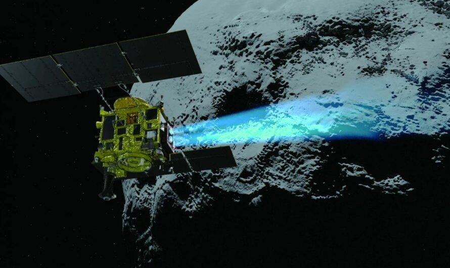 Миссия «Хаябуса-2»: посадка на астероид Рюгу и сбор образцов грунта (Видео)