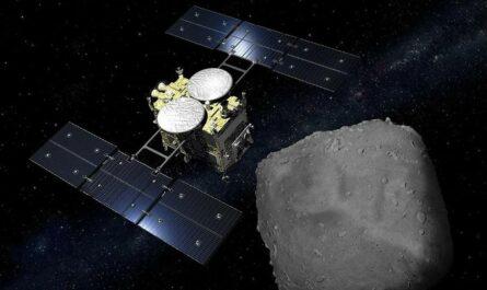 """Японский зонд """"Хаябуса-2"""" возвращается на Землю с образцами астероида"""