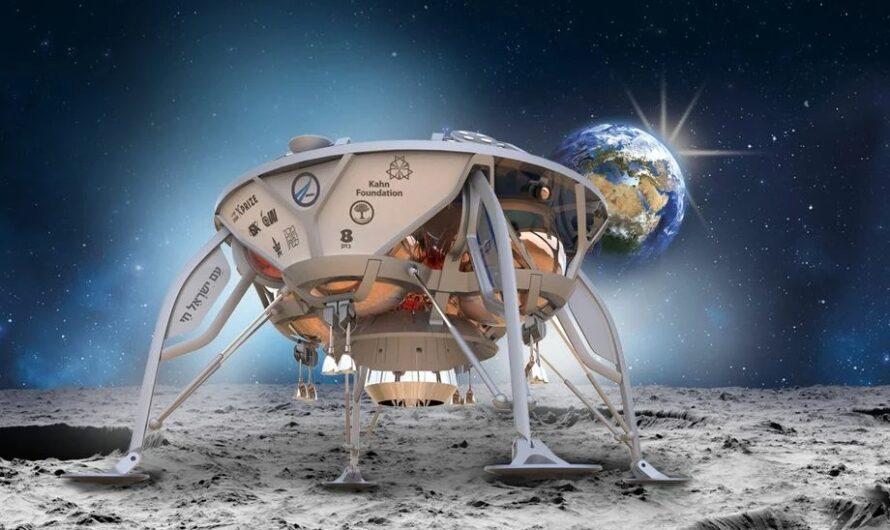 Израильский луноход Beresheet вышел на орбиту Луны и показал обратную сторону спутника
