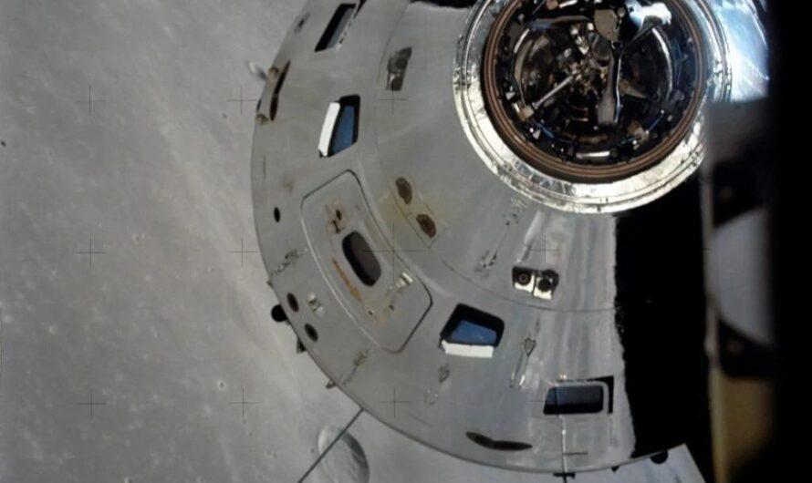 NASA «Аполлон-17»: момент посадки на Луну
