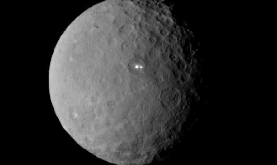 NASA показало трехмерную модель Цереры