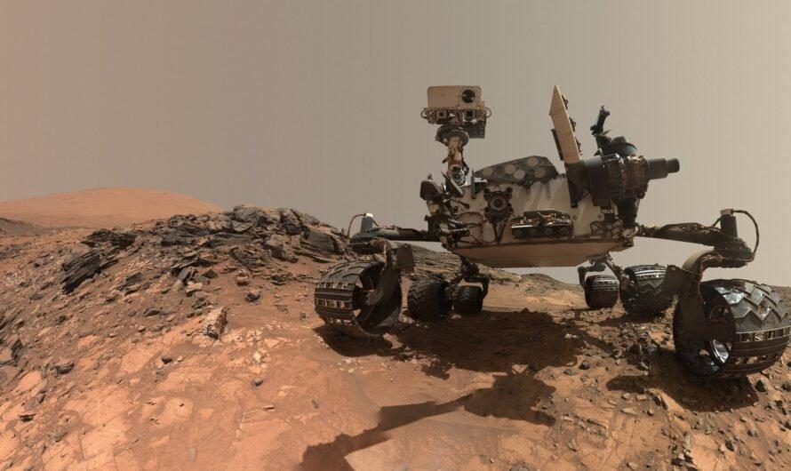 Ровер NASA Curiosity зафиксировал на Марсе выброс метана