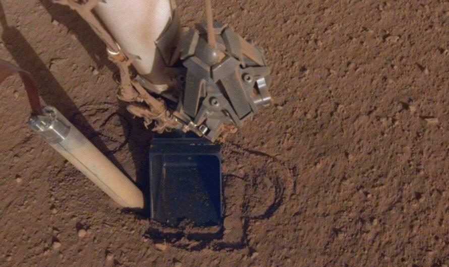Бур аппарата NASA InSight не смог погрузиться в недра Марса, но миссию продлили