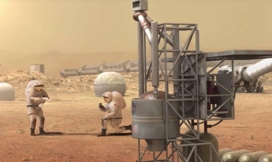 План NASA: ракетное топливо из марсианского грунта