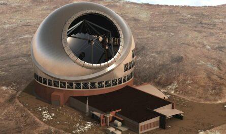 На Гавайских островах построят крупнейший в мире оптический телескоп