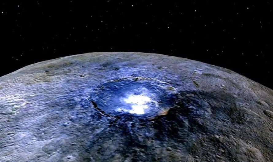 Откуда на Церере столько органики?