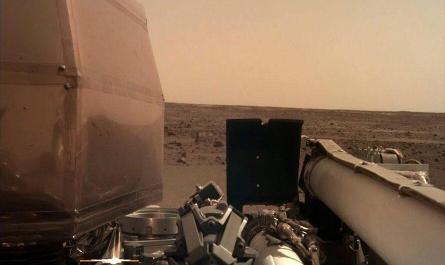 Аппарат NASA InSight впервые зарегистрировал «марсотрясение»