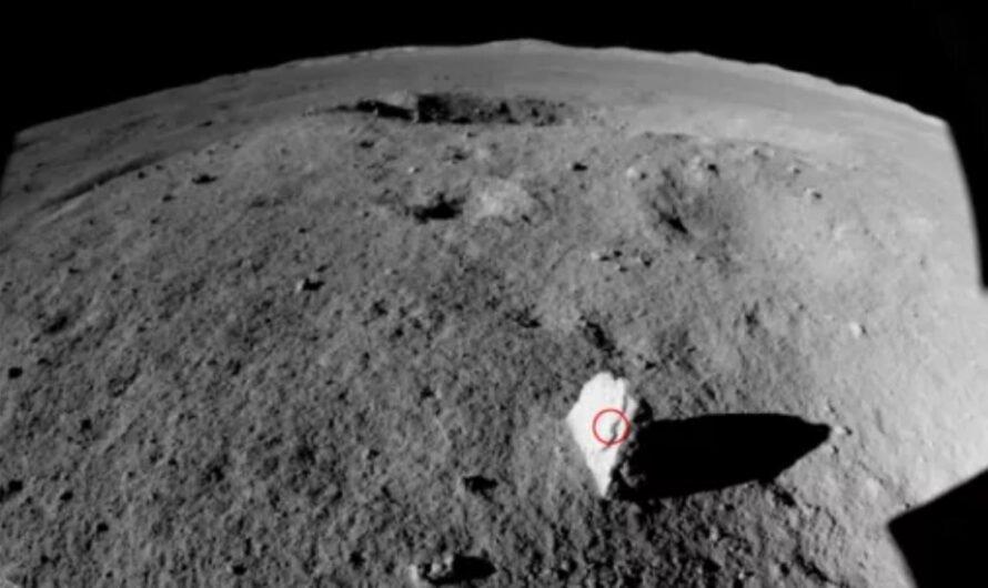Китайский луноход Yutu-2 обнаружил «необычный осколок»