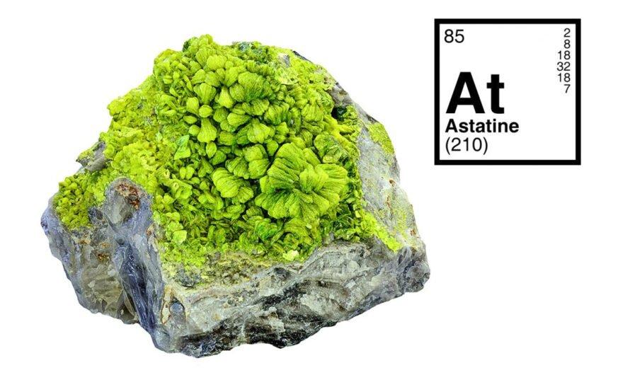 Астат — самый редкий природный элемент периодической системы