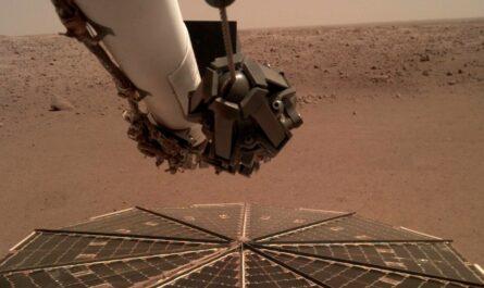 NASA записало шум ветра на Марсе