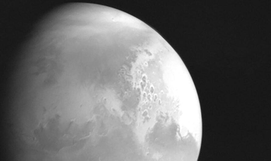 Китайский космический аппарат Tianwen-1 вышел на орбиту Марса