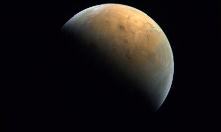 Арабский космический аппарат Hope сделал великолепный снимок Марса