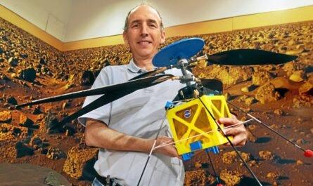 На Марс будет отправлен мини-вертолет NASA