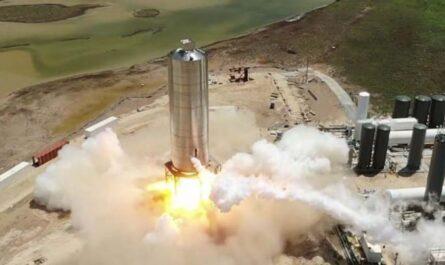 """Космический корабль Starship SpaceX готов к """"прыжку"""""""