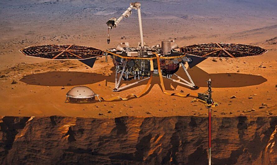 NASA InSight устанавливает инструмент для измерения внутренней температуры Марса