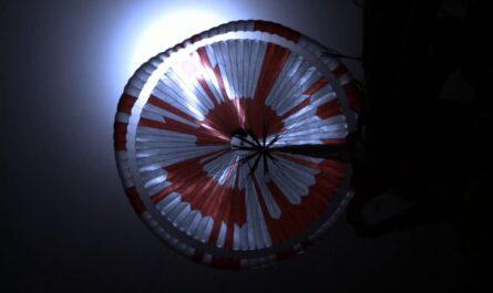 На парашюте NASA Perseverance было закодировано хитроумное послание