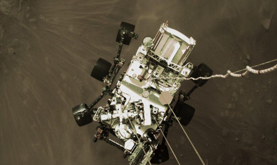 Марсоход NASA Perseverance менее мощный, чем многие смартфоны