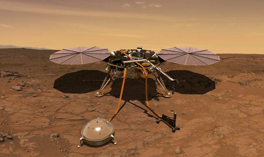 NASA InSight: звуки ветра и недр Марса