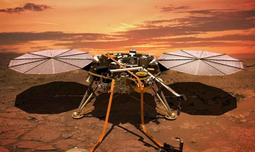 NASA InSight: земляне могут следить за погодой на Марсе