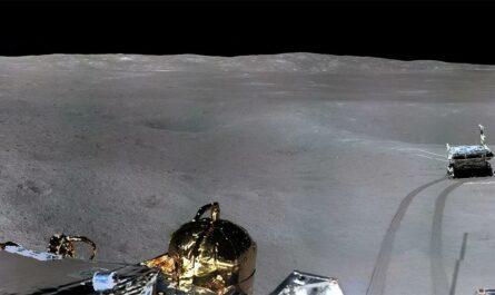"""""""Чанъэ-4"""" прислал панорамные снимки обратной стороны Луны"""