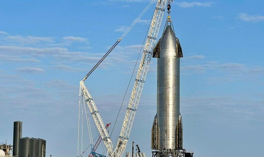 SpaceX готовится к испытаниям прототипа Starship SN11