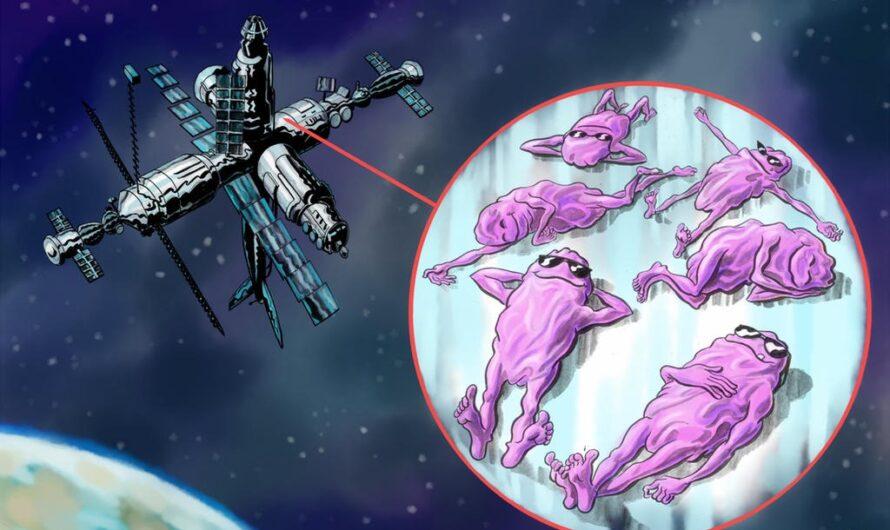 Бактерии в космосе мутируют и становятся агрессивными