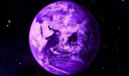 В прошлом Земля могла быть пурпурного цвета