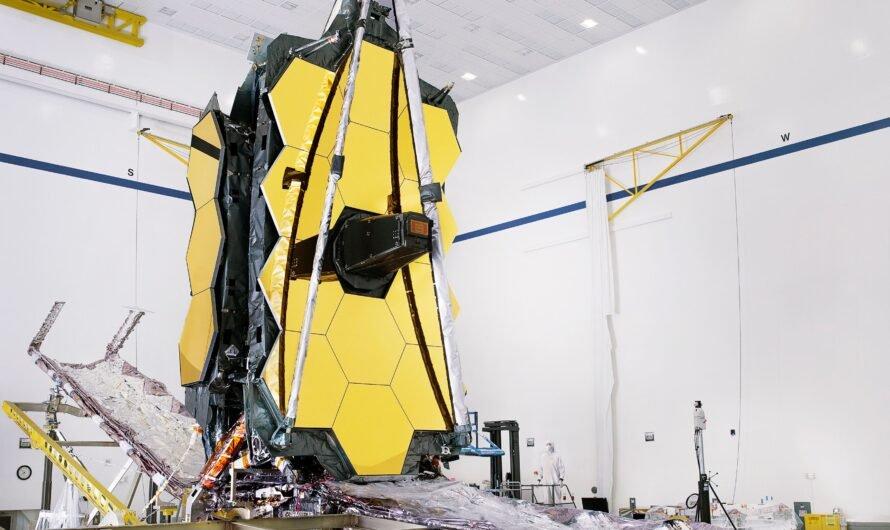 Космический телескоп NASA «Джеймс Уэбб» полностью собран