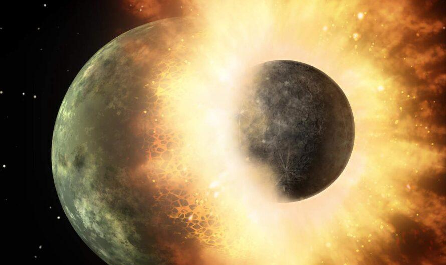 Кажется, внутри Земли скрывается огромный кусок древней планеты