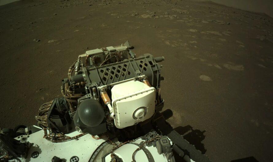 NASA Perseverance: новая аудиозапись с поверхности Марса