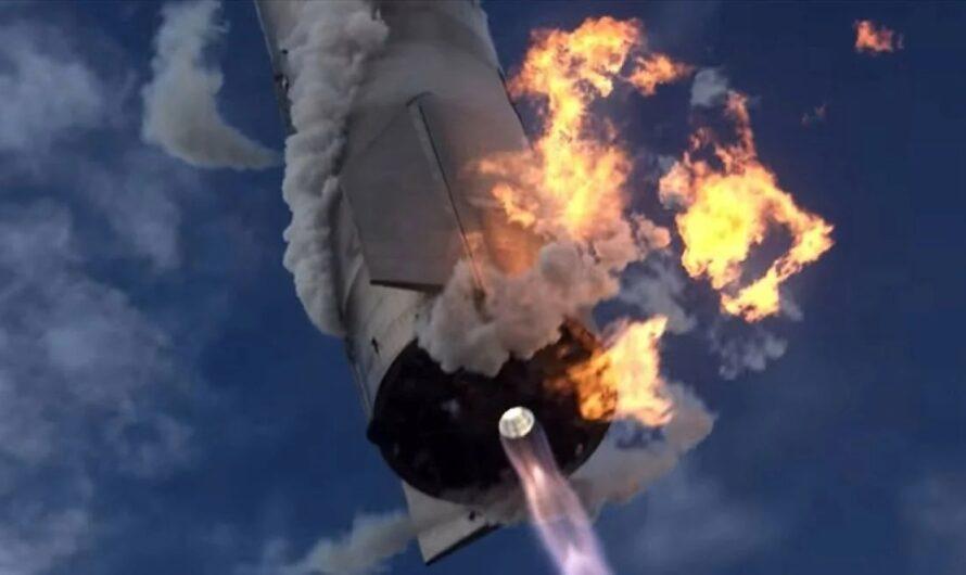 Эпичное видео с полетом и посадкой прототипа космического корабля SpaceX Starship SN10