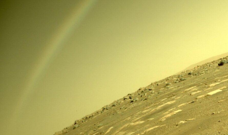 На снимке с Марса заметили радугу, но что же это на самом деле?