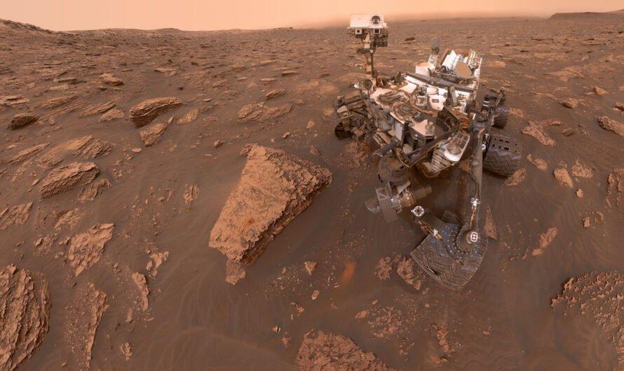 Ровер NASA Curiosity раскрыл интригующие подробности водного прошлого Марса