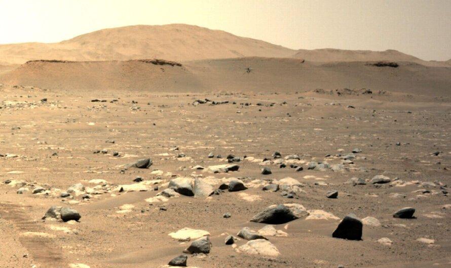Вертолет NASA Ingenuity совершил третий полет над Марсом, развив рекордную скорость