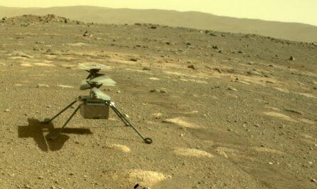 Марсианский вертолет NASA Ingenuity готовится к полету
