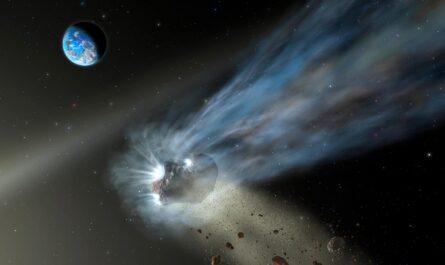 Все кометы Солнечной системы могли зародиться в одном месте