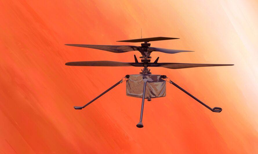 Вертолет NASA Ingenuity впервые поднялся над Марсом