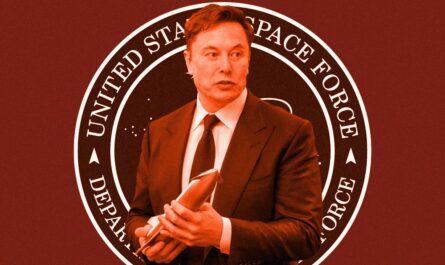 Космические силы США тесно сотрудничают с Илоном Маском